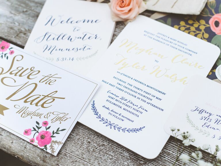 Gifts Using Wedding Invitation: Wedding Invitation Etiquette