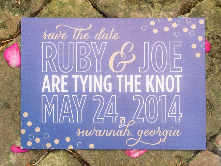 Save-the-Date Wording