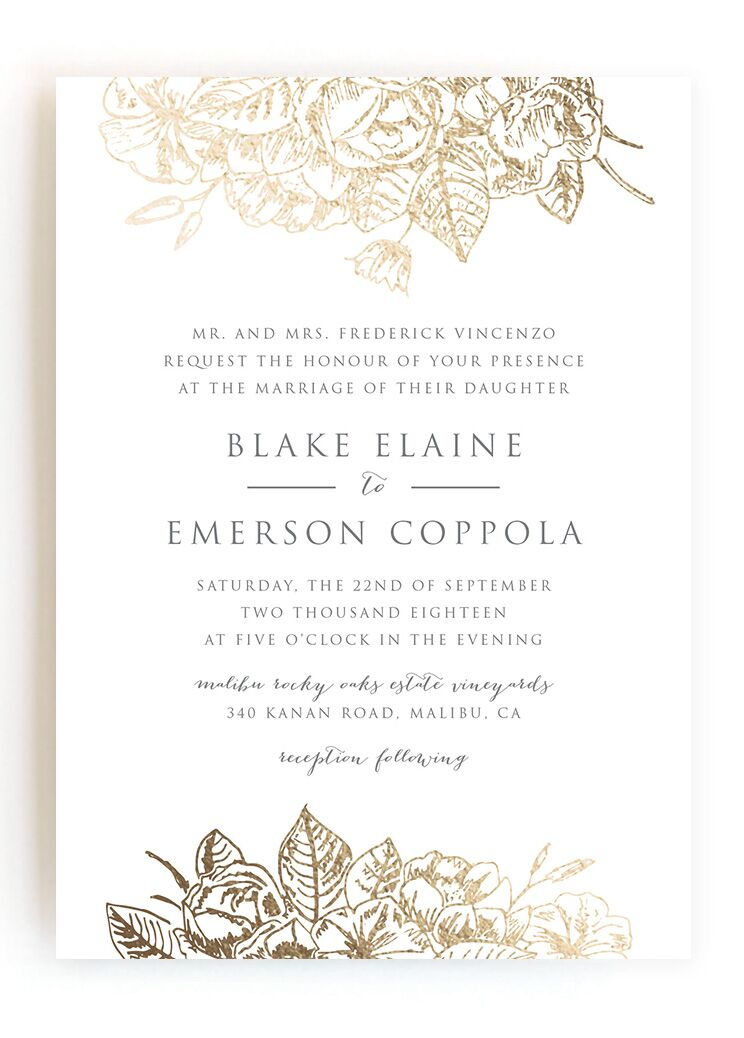 Get answers to the most frequently asked wedding invitation etiquette questions.